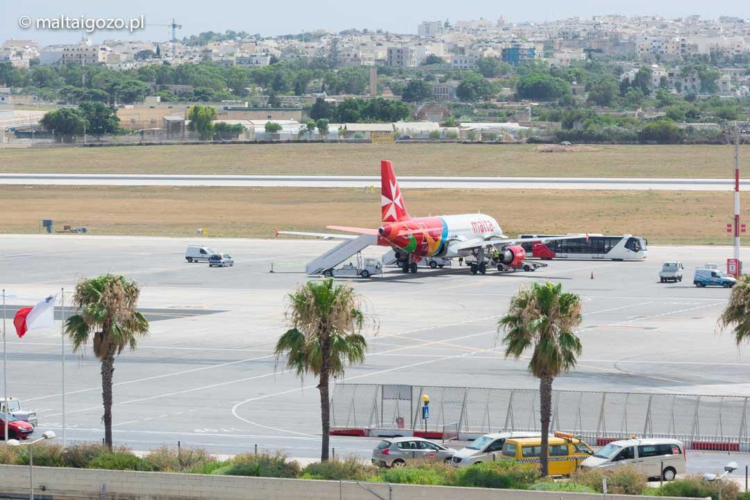 Luqa airport, Malta