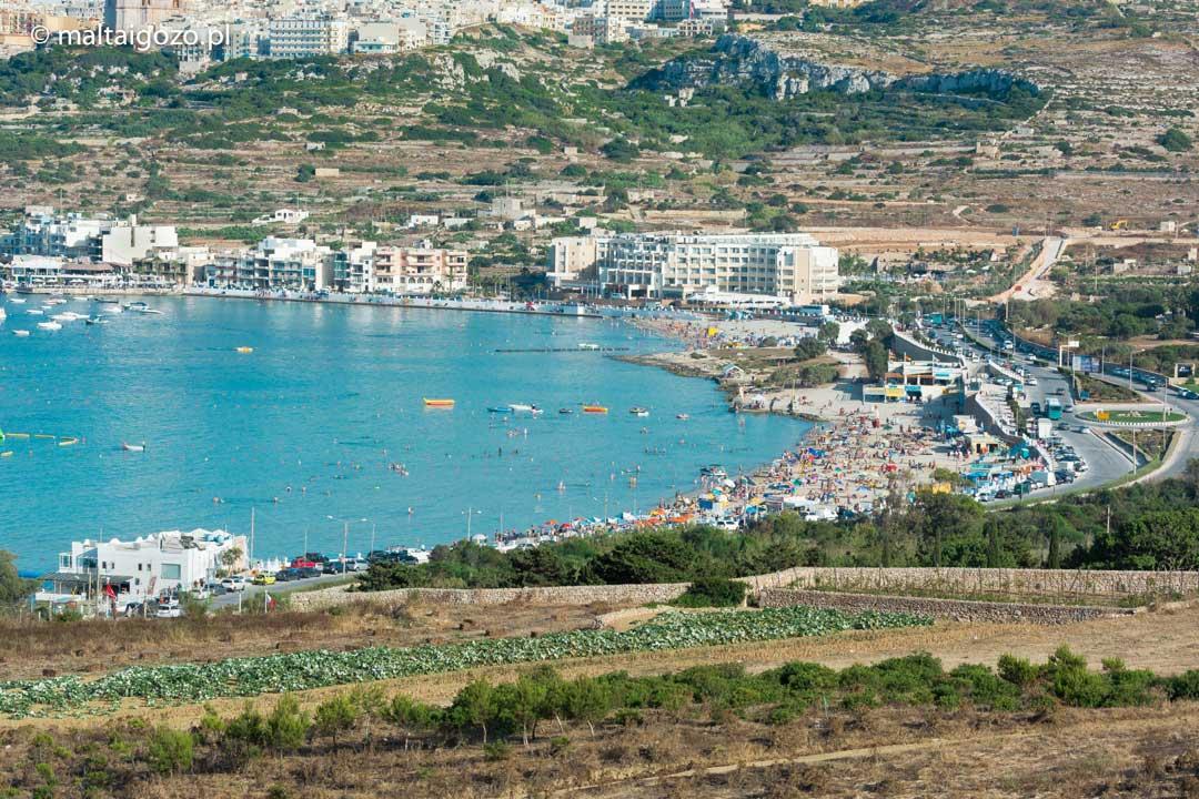 Mellieha Beach Ghadira