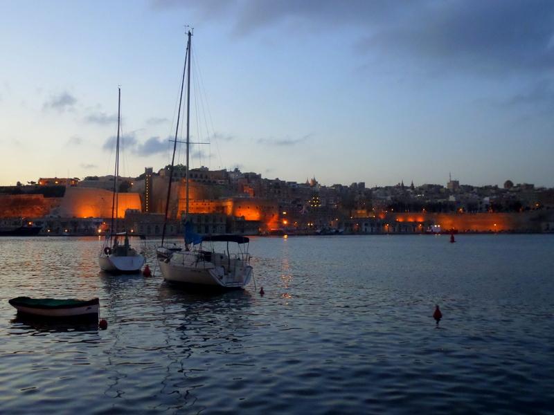 Widok na Vallettę z Trzech Miast