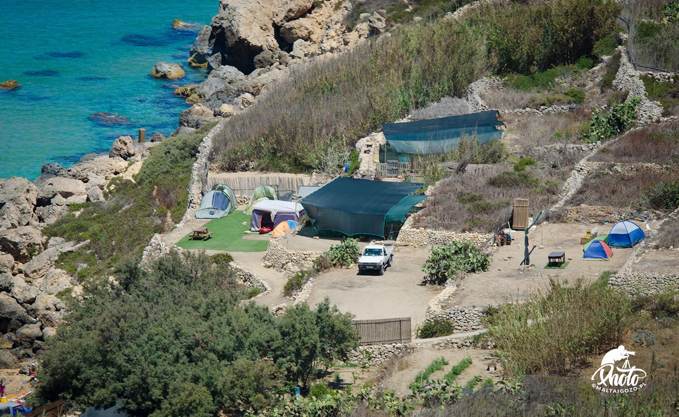 camping na Malcie