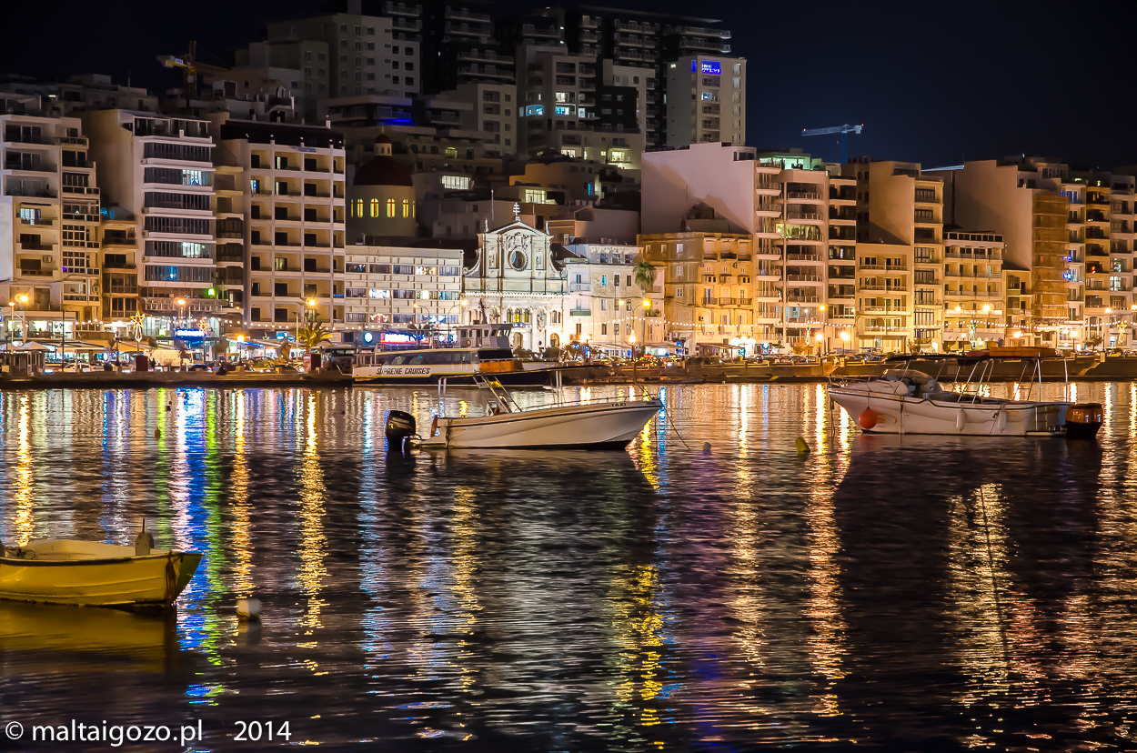 Sliema by night-2