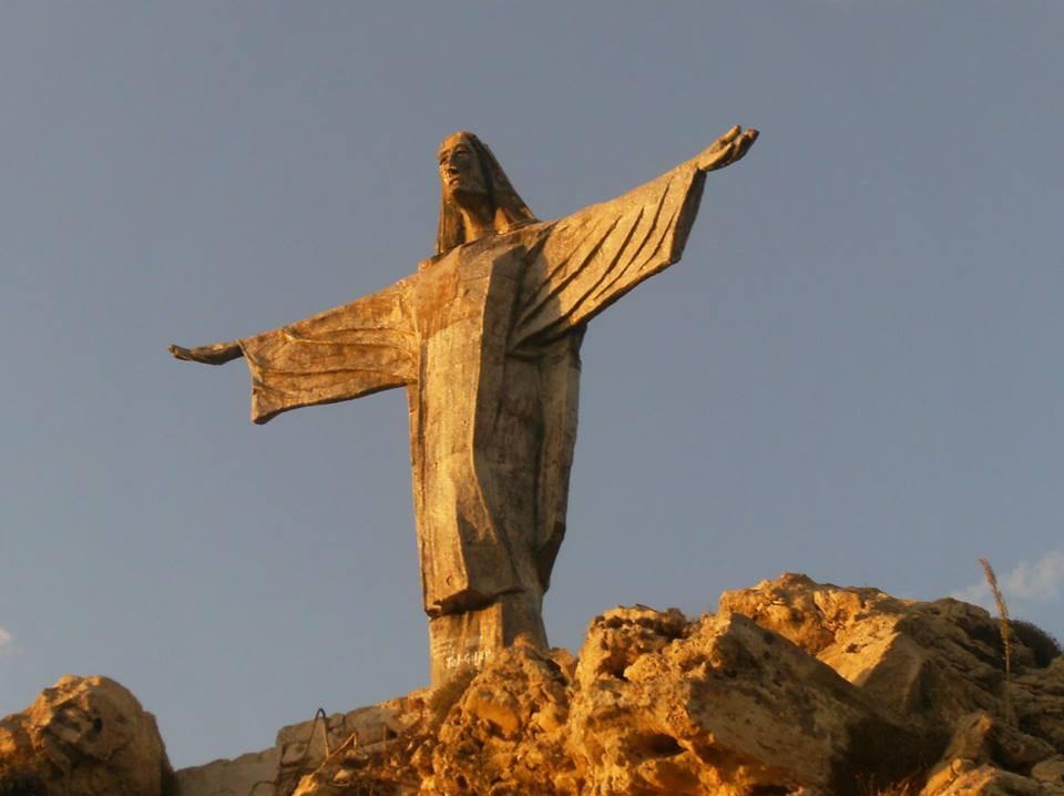 posąg chrystusa gozo