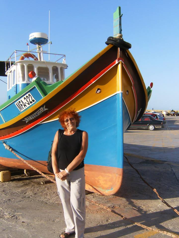 Oczy Ozyrysa na łodzi rybackiej