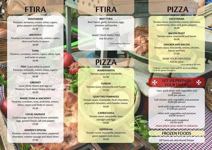 pizza gozo