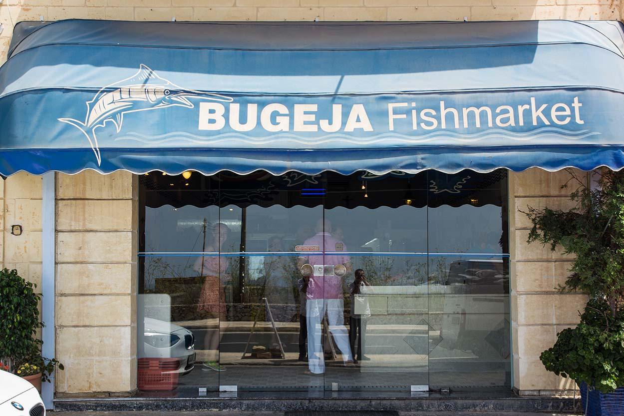 Bugeja fishmarket Gozo