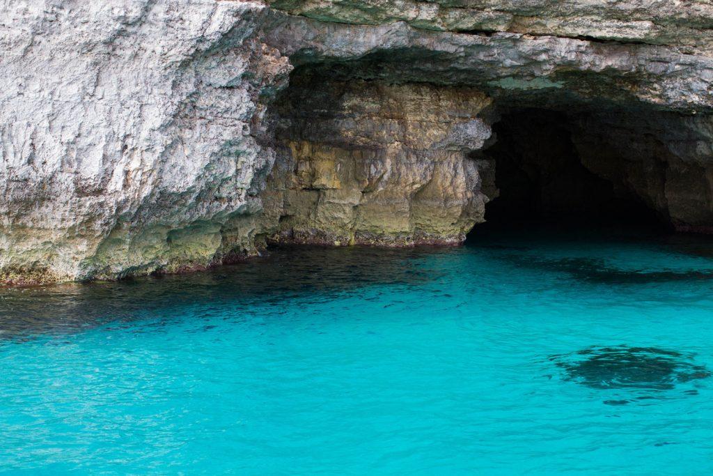 błękit wody malta