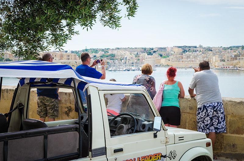 wycieczka jeepami malta