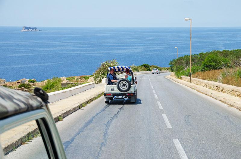 jeepy na malcie