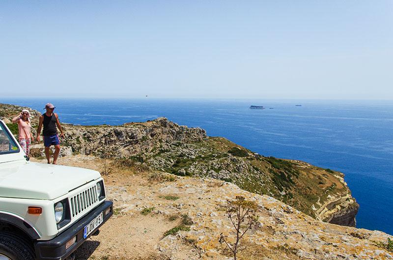 wycieczka jeep safari malta