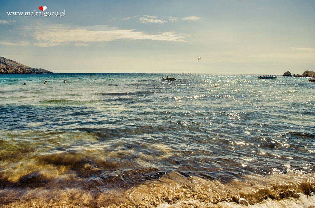 plaża golden bay malta