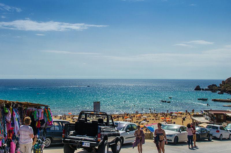 plaża golden bay