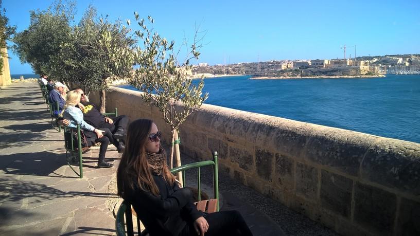 Malta w styczniu