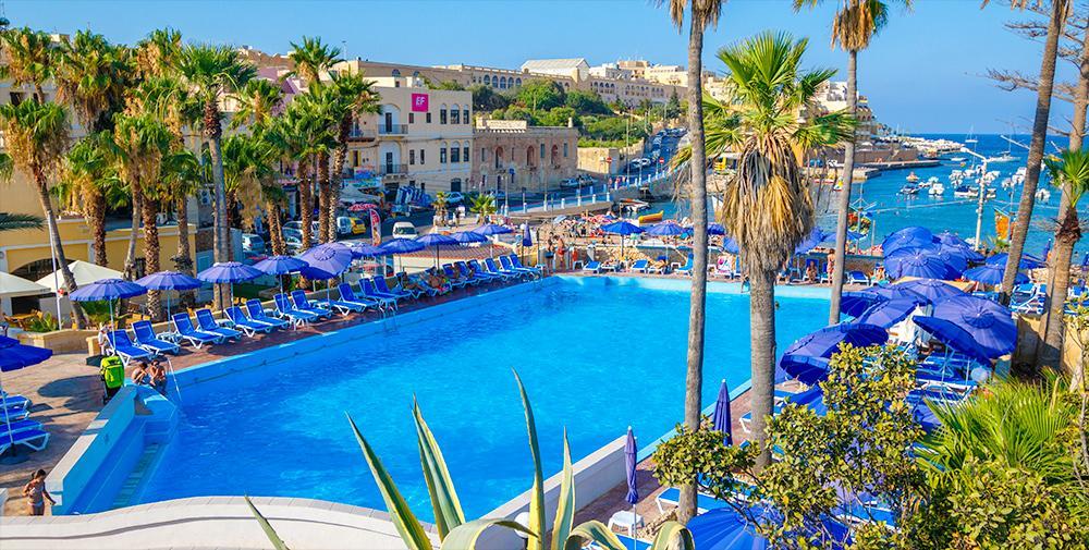 beach garden hotel malta