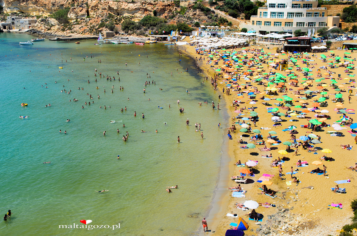 Golden Bay Malta