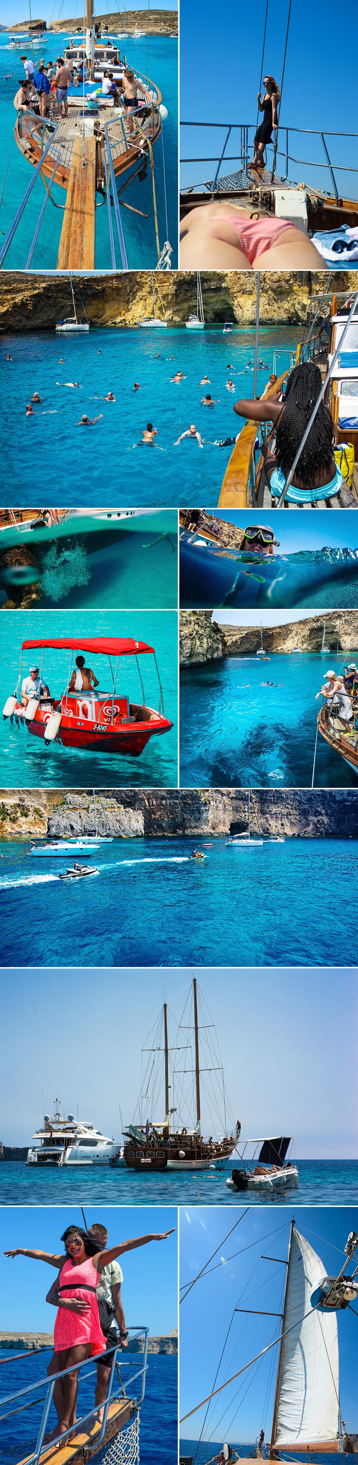 half day Comino boat