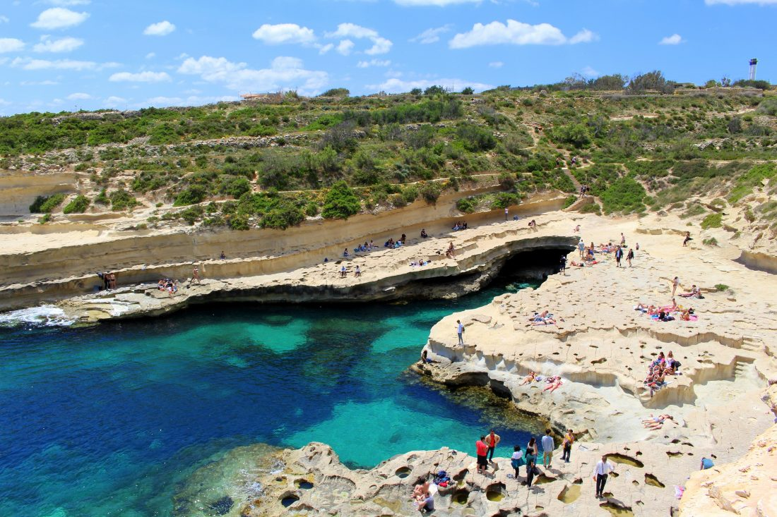 st. peter's pool malta