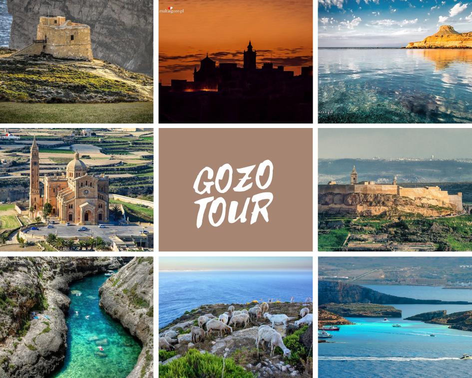 wycieczki objazdowe po Gozo