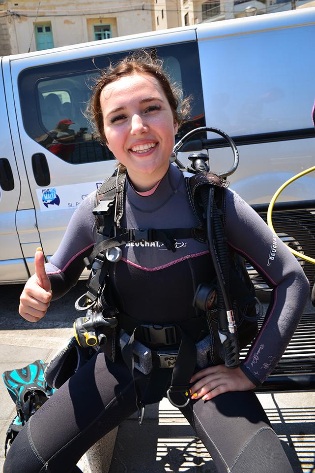 Kurs nurkowania dla dzieci malta